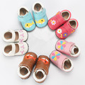 Baby Various Cute girl boy Shoes Soft Toddlers Real Leather Shoes Prewalker Male Female Enfant Shoes Non-Slip First Walkers
