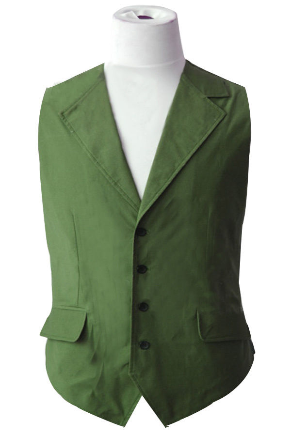Batman The Dark Knight Heath Ledger Costume Joker Outfit Green Vest Only Christmas Halloween Adult Men Full Sets