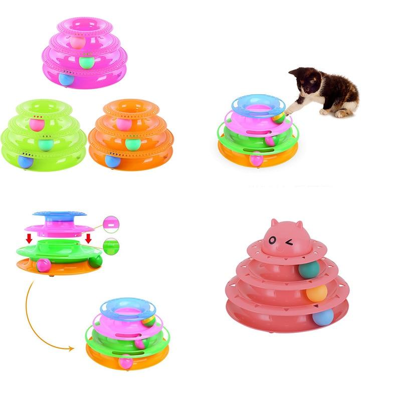 Kaķu lolojumdzīvnieku izlūkošanas atrakciju plaukts Plaukta suns Kaķu rotaļlietas Apmācība Atrakciju bumba Tornis Dziesmas Diski