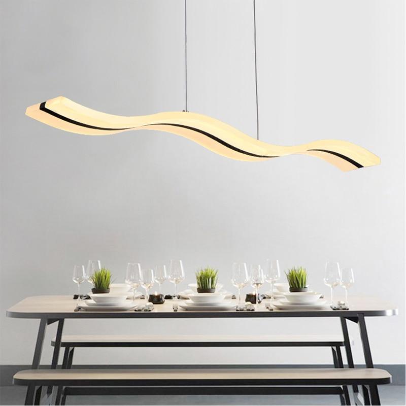 Led Modern Pendant Lights Kitchen Light Lustre Luminaire Lamps For Bedroom Restaurant Home Lighting Fixture Hanglamp Lamparas