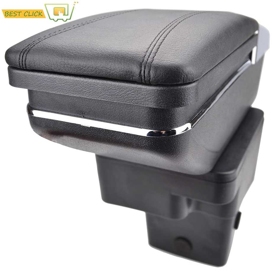 Arm Rest Rotatable For Hyundai Accent RB Solaris 2011-2016 Centre Console Storage Box Armrest 2012 2013 2014 2015