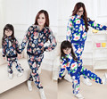 2016 nueva primavera y niños de manga larga traje deportiva familiar mirar deportes establece hija de la madre boias de piscina mae e filha
