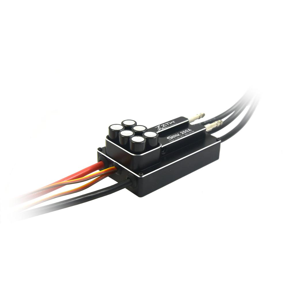 ZTW SEAL 200A SBEC 8A 8S brushless ESC Great performance for RC boat With forward and reverse two-way