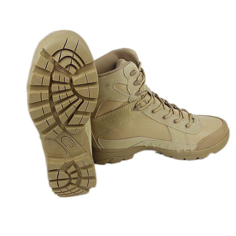 DUTOLE Real New Botas Boots Men's Tactical Military Boots Swat Army Combat Desert Lace-up Sand Eur Size 39-45 Free Shipping new outdoor hiking boots special forces tactical boots men s desert combat boots size 39 40 41 42 43 44 45