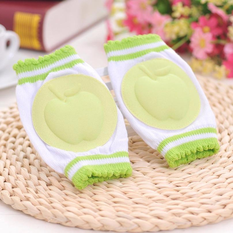 2015 Hot Sale 1 Pair Kids Safety Crawling Elbow Cushion Infants Toddlers Baby Knee Pads Protector Leg Warmers Baby Kneecap