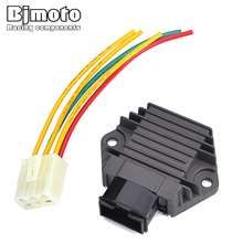 Bjmoto Motorcycle 12v Voltage Regulator Rectifier For Honda CB-1 CB400F CB250 Hornet 250 CBR600 F2 F3 CBR900 CB500 CBR250 MC17