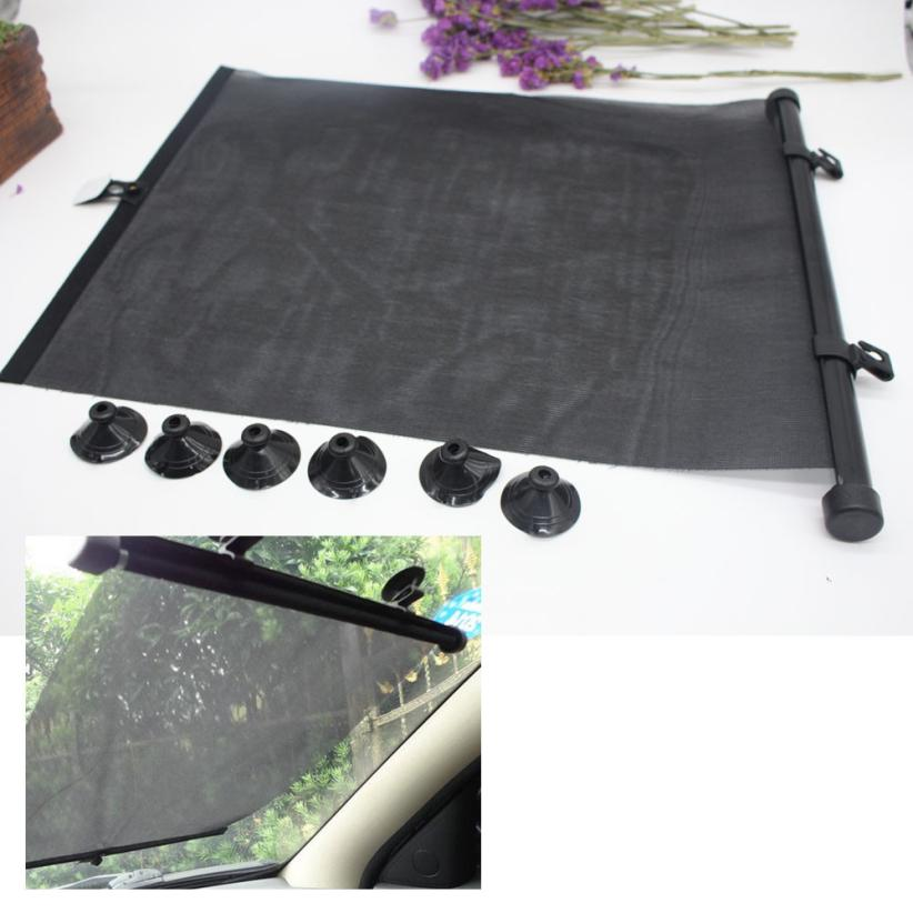 ouneed car window roller blinds sun block shades baby children interior protection window. Black Bedroom Furniture Sets. Home Design Ideas