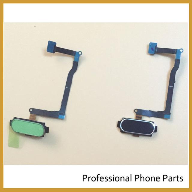 De reconhecimento de sensor de impressão digital para samsung galaxy note 5 n920f original botão tecla home flex cable peças de reposição