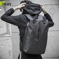 KEMY Brand Design Stylish Waterproof USB Travel Men's Backpacks Notebook 15.6 Laptop Antitheft Backpacking Backpack for Men