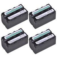 4 batteries