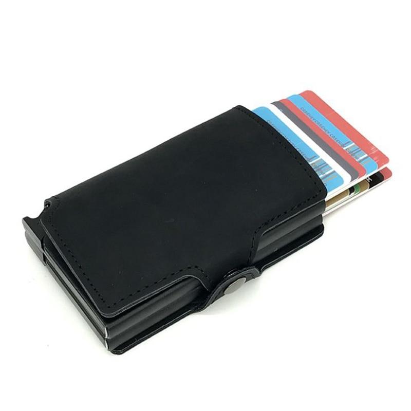 2019 automatic aluminium id credit card holder