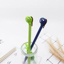 2pcs/lot Kawaii Cute Little monster gel pen Creative Neutral stationery pens canetas material escolar office school supplies
