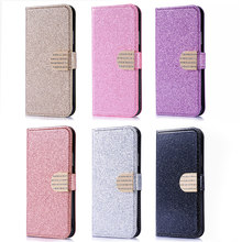 Bling Flip Case For Coque Samsung Galaxy J3 J5 J7 2017 J330 J530 J730 PRO j2 2018 Cases Wallet Diamond Stand Phone Cover(China)