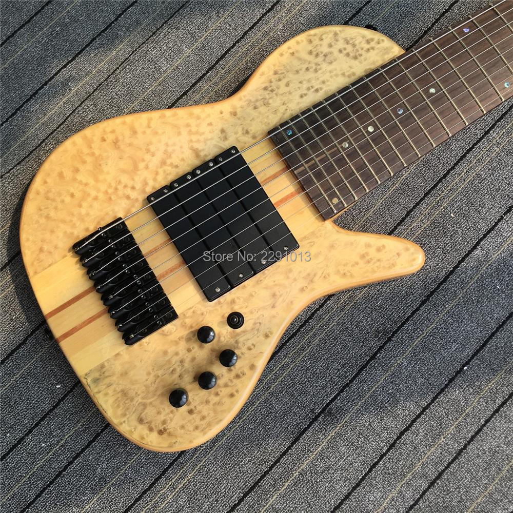 New Arrival 8 Strings Bass Guitar Top Quality Guitar Free Shipping4