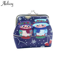 Aelicy Owl Coin font b Purses b font Women font b Wallets b font Small Cute