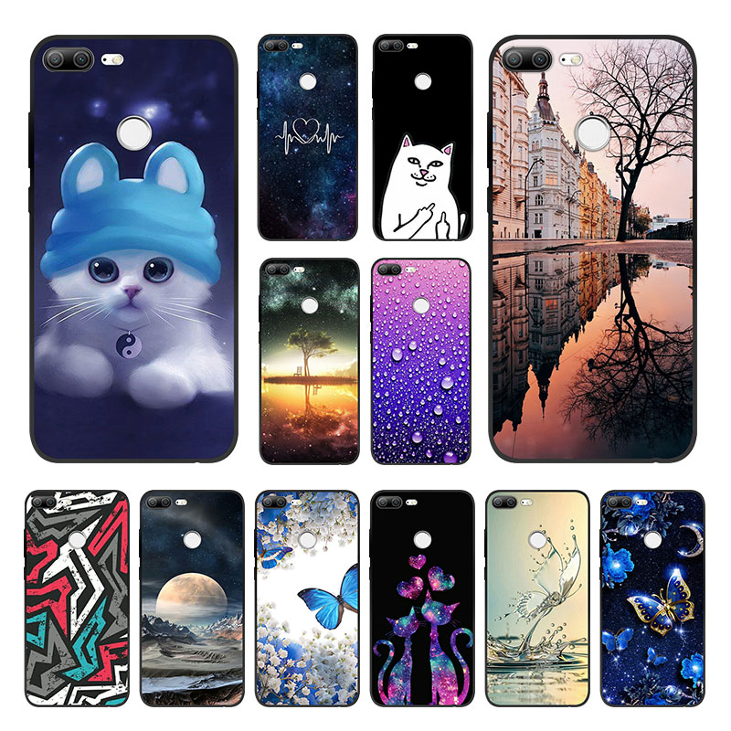 Case For Huawei Honor 9 Lite Case Cover Silicone Funda Honor 9 Lite Capa Soft TPU Phone Case Honor 9 Lite Back Cover Bumper
