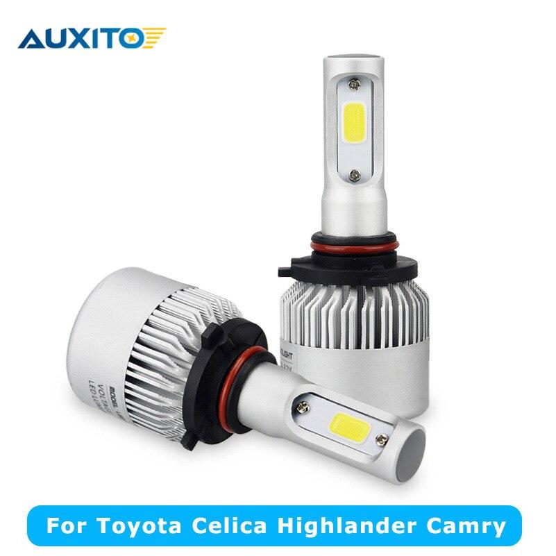 popular toyota celica headlight buy cheap toyota celica headlight 2x cob led car headlight low beam high beam automotive headlamp for toyota celica 1994