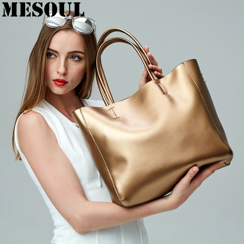 ФОТО Bolsas Femininas Women Shopping Bag Real Leather Handbags Genuine Leather  Large Shoulder Bags Female Fashion Designer Tote Bag