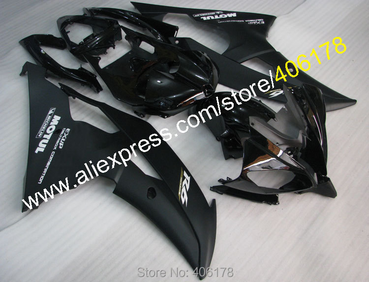 Hot Sales,Yzf600 R6 08-16 Body Kit For Yamaha YzfR6 2008 2009 2010 2011 2012 2015 2016 Black Fairing Sets (Injection molding) hot sales for yamaha yzf600 r6 fairings kit 2008 2009 2010 2011 2012 2013 2014 yzf r6 motorbike body yzfr6 injection molding
