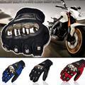 Completo dedo guantes de moto verano de carreras de invierno moto ciclismo motocross protectora motocicleta luvas motocross guantes