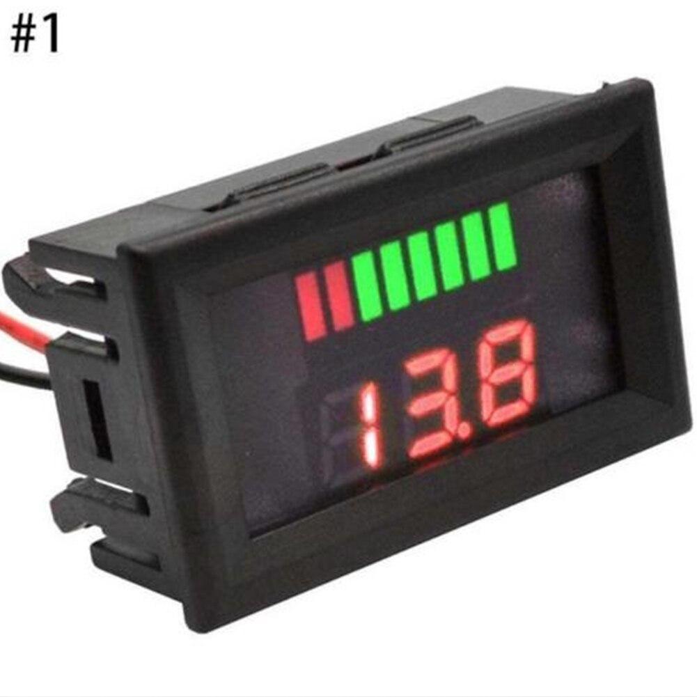 Motorcycle Battery LED Display Mini Voltmeter Digital Tester Car Voltage Test
