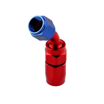 Universal AN6 Aluminum Swivel Hose End Fitting Adapter for Oil Fuel Hose Line Automobile Oil Cooler and Gasoline Hose Car Part image