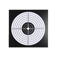 Surwish 100Pcs Shooting Trainning Target Sheet for Airsoft/for Nerf