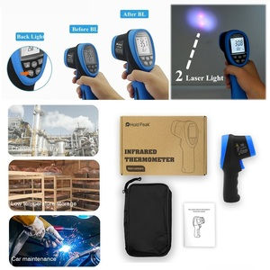 Image 5 - HoldPeak  50 1500C/  58 2732F High Temperature Measure Digital IR Thermometer Laser Infrared Temperature Instrument Pyrometer