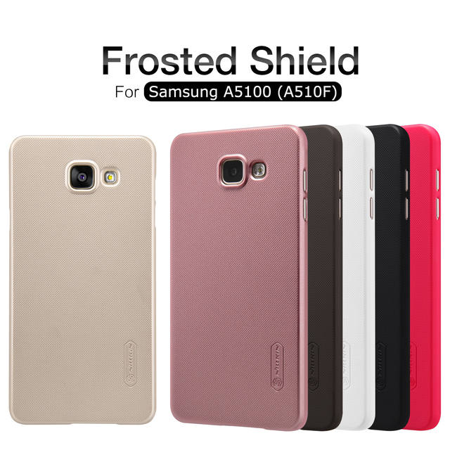 Nillkin Frosted Shield Hard Back Case Cover For Samsung Galaxy A3 A5 A7 (2016) A310F A3100 A510F A5100 A710F A7100 With Package