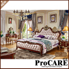 Designer Modern Leather Bed Soft Bed Double Bed King Size Bedroom Furniture