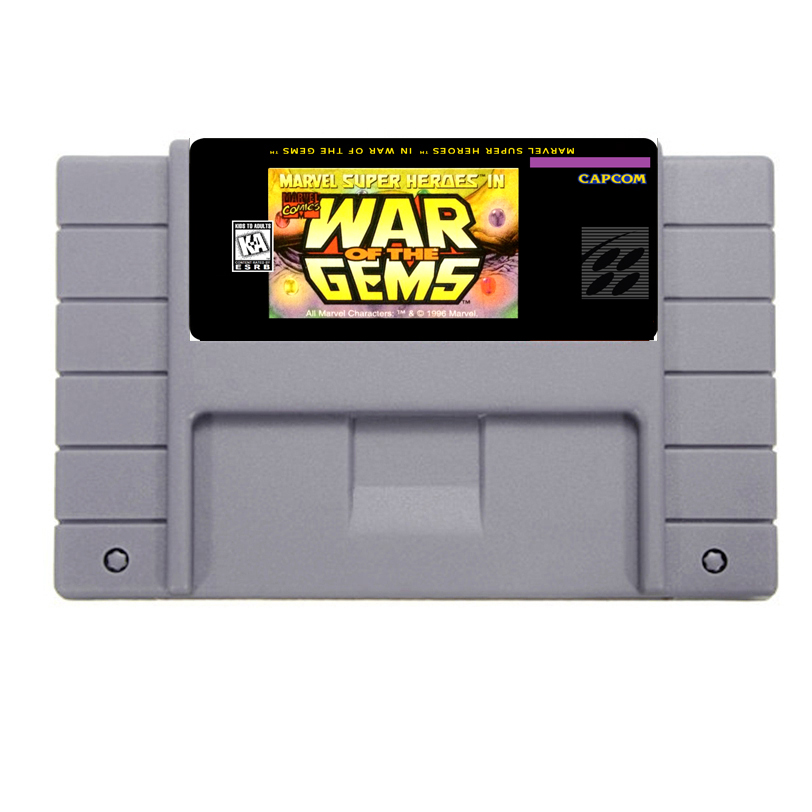 Best Sale War of the Gems Game Cartridge For 46 Pin 16 Bit NTSC Game Player