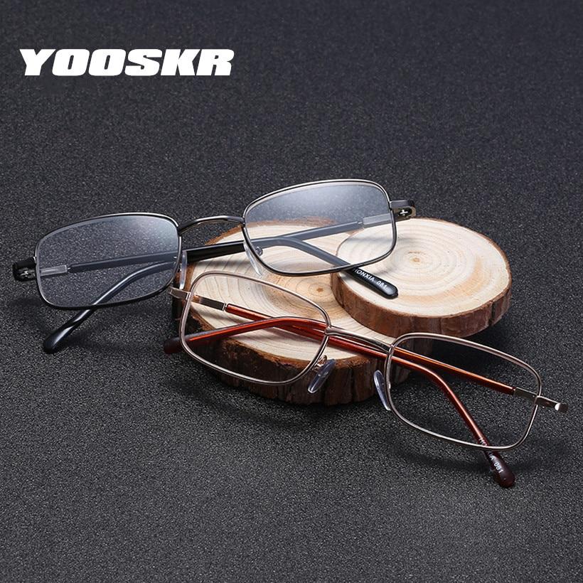 Full Metal Frame Resin Lenses Comfy Light Glasses For Men Women Reading Glasses 1.0 1.5 2.0 2.5 3.0 3.5 4.0 Apparel Accessories Men's Reading Glasses