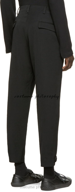 Modelo Pelo Plus 2019 Pantalones Trajes 27 Moda 44 De Ropa Casuales Negro Nueva Hombre Delgado Tamaño Estilista q0Sqz