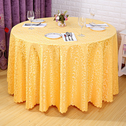 Wholesale hotel tablecloth dining table cloth hotel restaurant tablecloth square round tablecloth