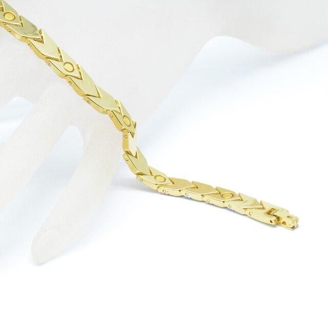 Фото женский магнитный браслет vivari трендовый 3 тонов цвета стрела цена