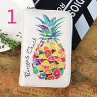 Cute personality Q version small wallet