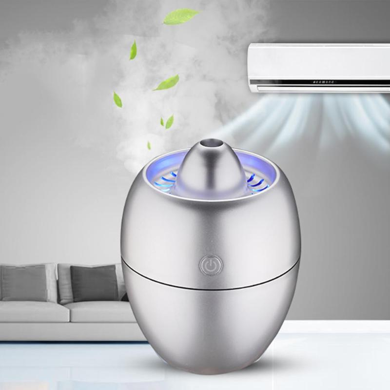 260ml Engine Shape Mini Air Humidifier USB Ultrasonic Humidifier Aromatherpy Car Aroma Diffuser with LED Blue Light