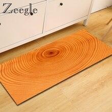 Zeegle деревянный узор коврики для прихожей Добро пожаловать двери напольный коврик анти-скольжения Kicthen области ковры спальня прикроватные коврики молитвенный коврик