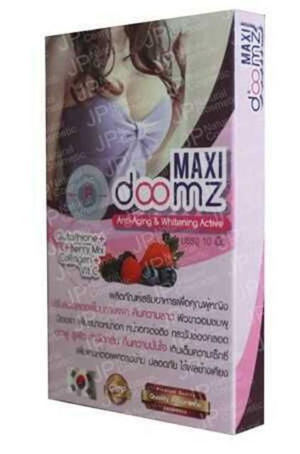 Maxi Doomz 10 Comprimidos Da Ampliação Do Peito e Aperto Vaginal-pílulas de mama mama Maquiagem-mulheres bonitas