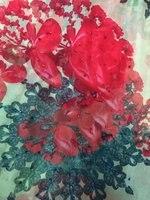 100 Silk Printed Chiffon Digital Printed Rose Flower Fabric Material Sew On Women Dress Scarf 140cm