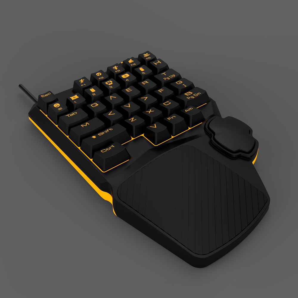 AVATTO Professional PUBG Mechanical Gaming Keyboard with Backlit ...
