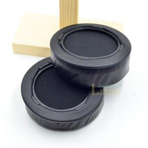 Image 5 - Angle Genuine Leather cushion ear pads foam ear pads cover for Hifiman HE Series Headphones headset