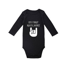 Culbutomind My Uncle Kicks Butt Cute Long Sleeve Organic Cotton Spring Autumn Baby Shower Gift Infant Jumpsuit Outfit