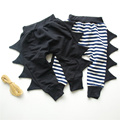 Children's Clothes 2016 Spring Boy Girl Striped Black Harem Pants Hedgehog  Dinosaur Kids Boys Girls Leisure Sports Clothes