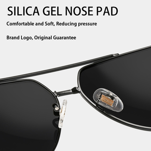 Image 4 - UV 2020 קלאסי Mens צבאי באיכות משקפי שמש מקוטב UV400 שמש משקפיים טייס גברים משקפיים נהיגה 6603