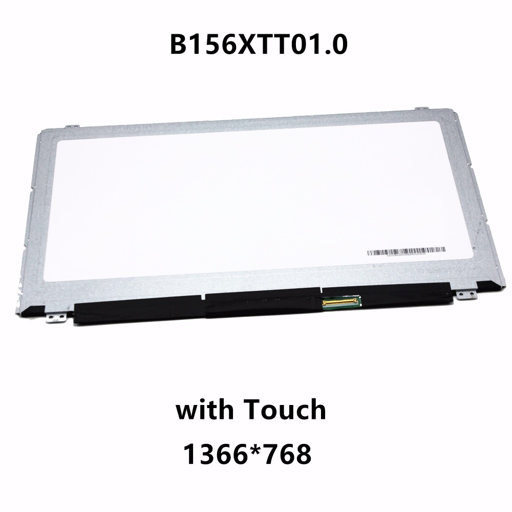 15.6'' Laptop LCD LED Screen Display Matrix with Touch Digitizer Glass Panel Assembly B156XTT01.0 For Lenovo Ideapad Flex 15 15M