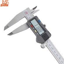 Buy online SHAN 12″ 0-300mm/0.01 Electronic Digital Calipers Micrometer Inch/MM Vernier Caliper Gauge Large LCD Display Measuring Tools