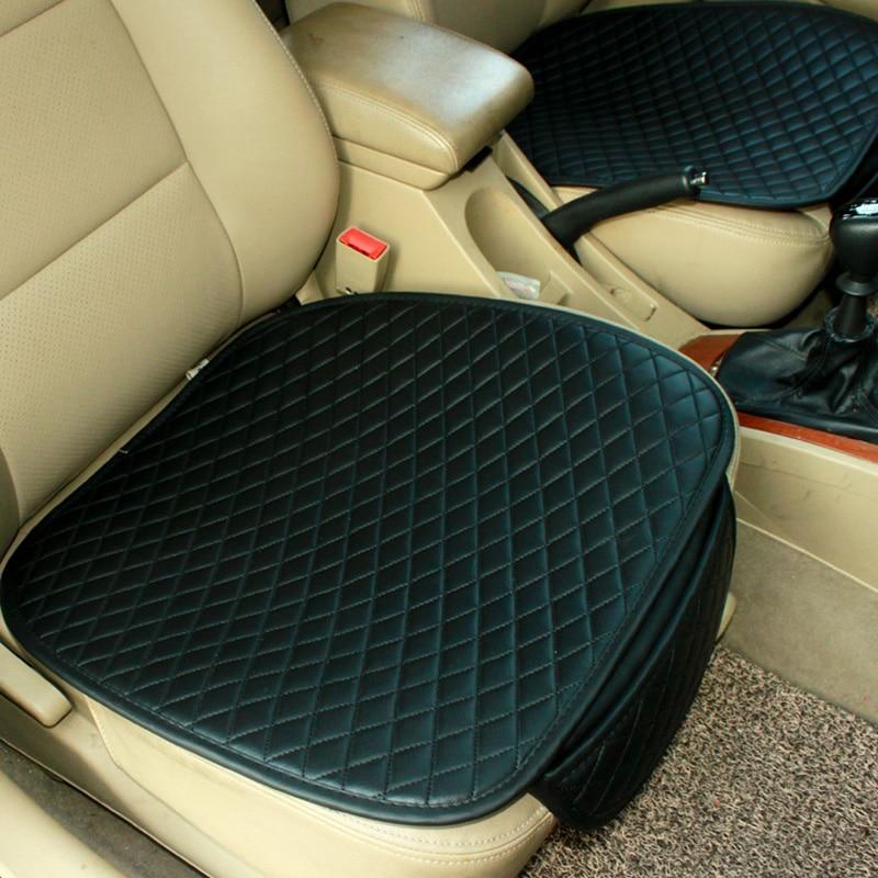 Couro almofada do assento de carro quatro estações almofada do assento, tampas de assento do carro, tampa de assento para ford, para todos os carros