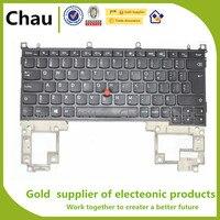 Novo Para lenovo Thinkpad X1 Helix Tipo 3xxx Laptop teclado Qwerty 04Y0042