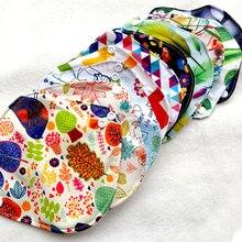 5 шт многоразовые прокладки для трусиков с 1 влажной сумкой оптом